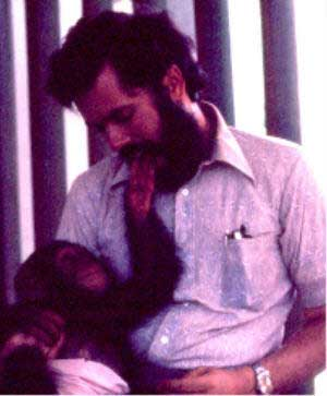 chimp and me