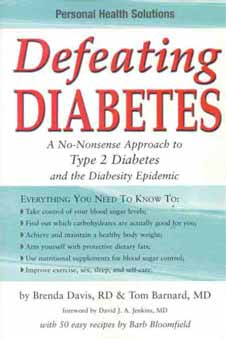 Defeating Diabetes book