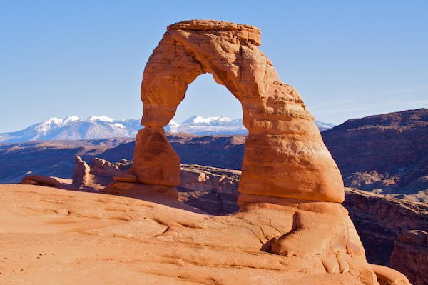Delicate Arch in Southern Utah
