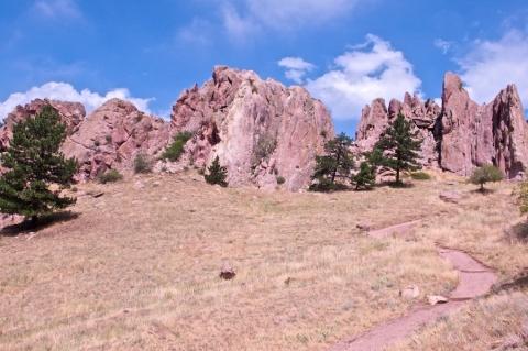 Boulder's Red Rocks