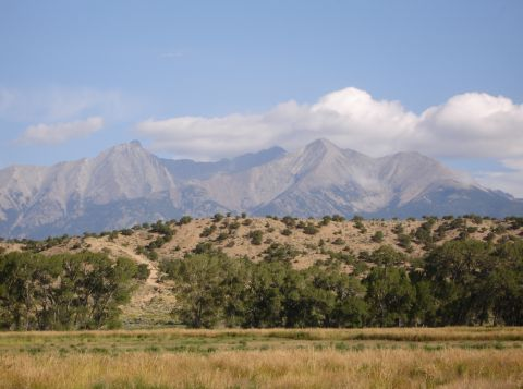 Mt. Blanca from Fort Garland
