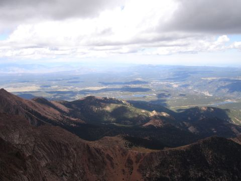 A View from Pike's Peak