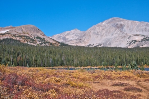 Brainard Lake and Mount Audubon