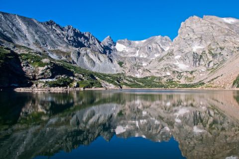Lake Isabelle, Elevation 10,868 Feet, Without Wind