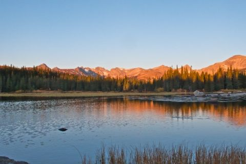 Redrock Lake at First Light