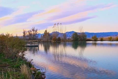 Sunrise over Coot Lake