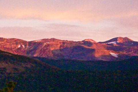 Sunrise on the Rockies