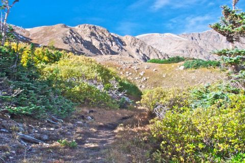 On the Trail Toward James Peak
