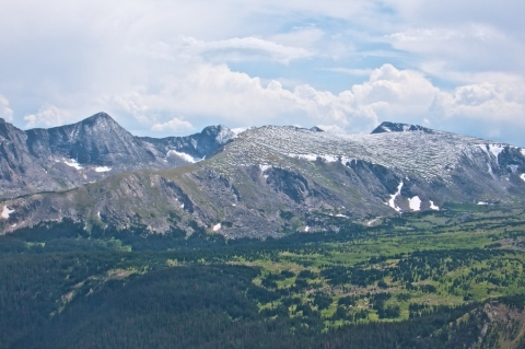 A Typical View from Trail Ridge Road (Forest Canyon and at far right, Mount Ida, Which I will Climb)