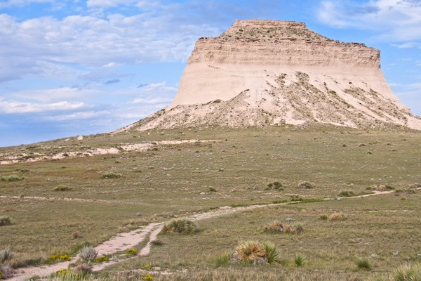 But Clouds Got In My Way >> Pawnee Buttes