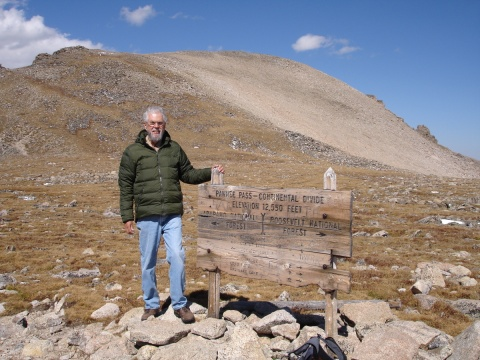 Pawnee Pass, elevation 12,550 feet