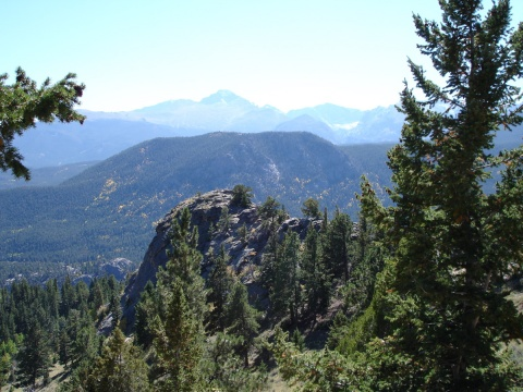 View from the Top of Beaver Meadows