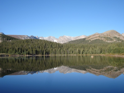 Brainard Lake, elevation 10,060 feet