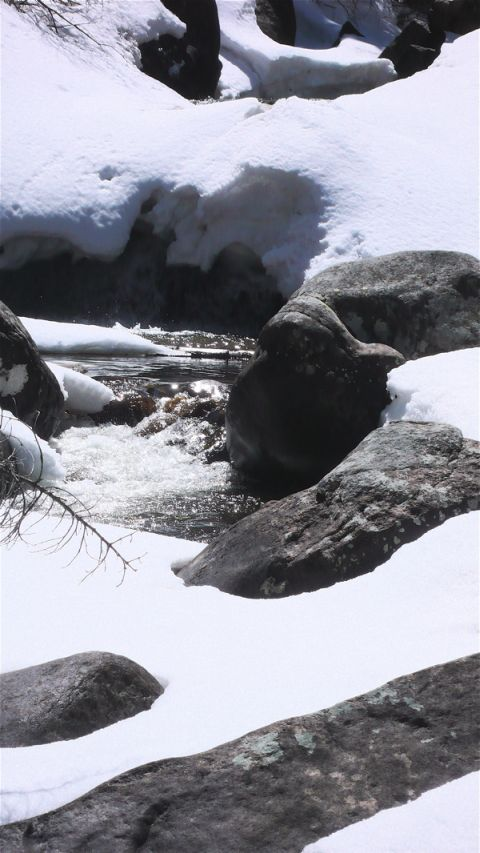 Copeland Falls under Snow