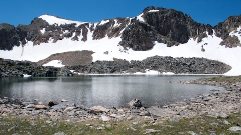Lake Dorothy and Mount Neva