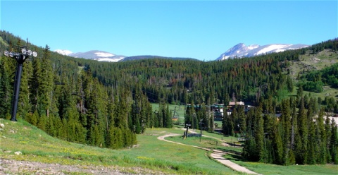 Eldora Ski Resort below South Arapahoe Peak