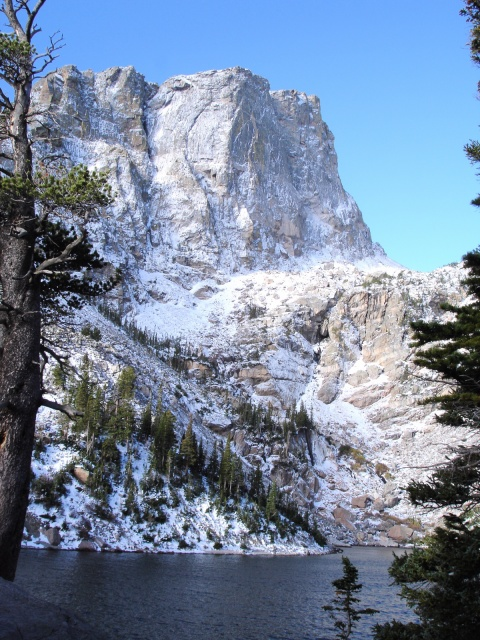 Hallet Peak Starts at Emerald Lake