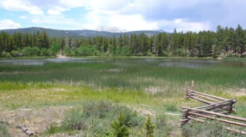 Mud Lake and Indian Peaks