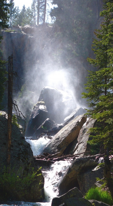 Ouzel Falls (Named for the Water Bird)