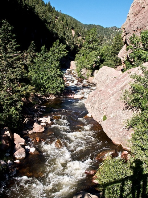 South Boulder Creek through Eldorado Canyon
