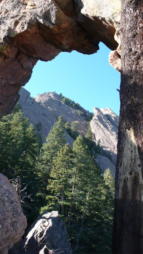 Flatirons Through Royal Arch
