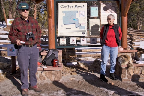 Volunteer Naturalists at Caribou Ranch Trailhead
