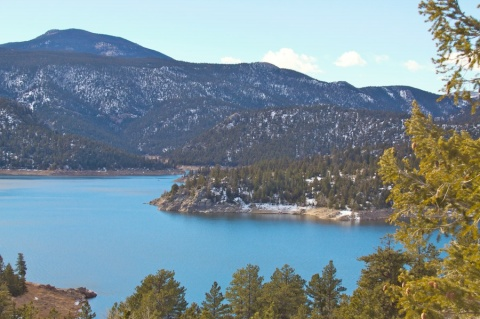 Gross Reservoir from the North Shore