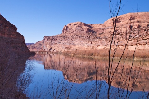 The Placid Colorado River