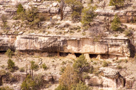 One of About a Dozen Cliff Dwellings above Walnut Creek