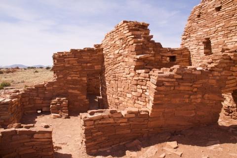 The Lomaki Pueblo