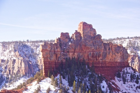 """The Battleship\"" and the Colder, Higher North Rim"