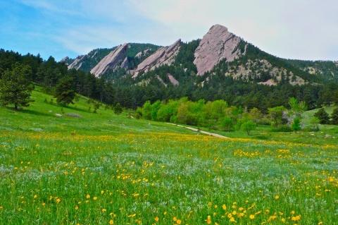 Boulder\'s Flatirons