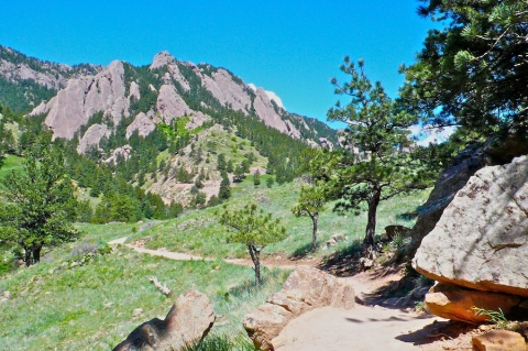 Along the NCAR Mesa Trail