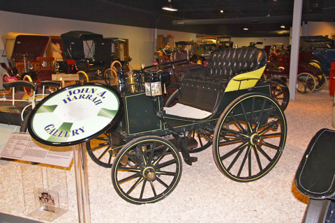An 1892 Panhard and Levassor