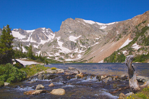 Lake Isabelle and Indian Peaks