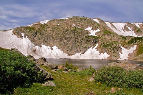 King Lake at the Continental Divide