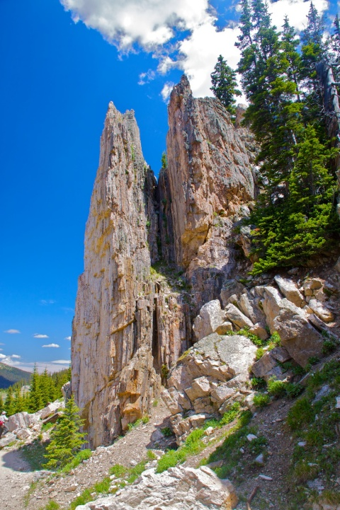Rock Spires, Hanging Gardens, and Mark