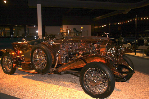 A 1921 Rolls-Royce Silver Ghost