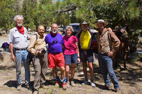 Trek's End: Me, RC, John, Susan, Marv, and Marty