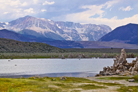 Tufa, Mono Lake, and the Sierras