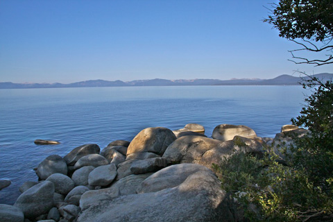 Lake Tahoe from the Nevada Side