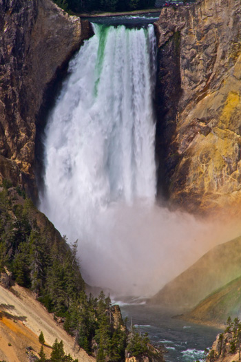 Lower Yellowstone Falls, the Grandest of Them All