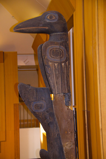 This Tlingit Indian Totem Pole Dates Back to the 19th Century