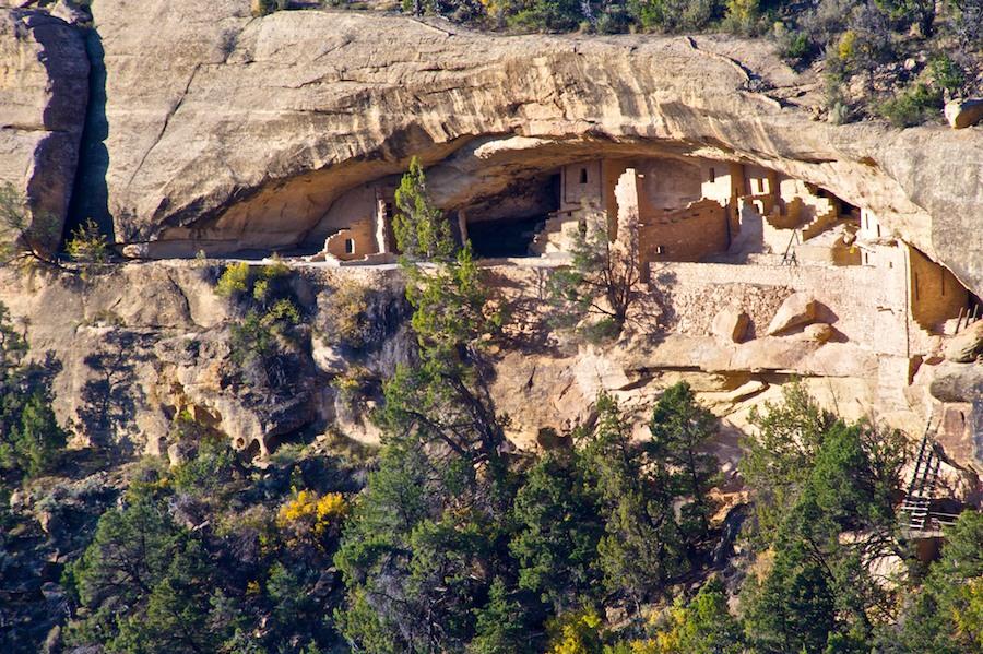 Southwestern Colorado: Mesa Verde's Balcony House
