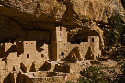 Close Up of Cliff Palace