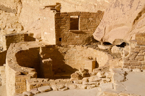 One of 23 Kivas at Cliff Palace