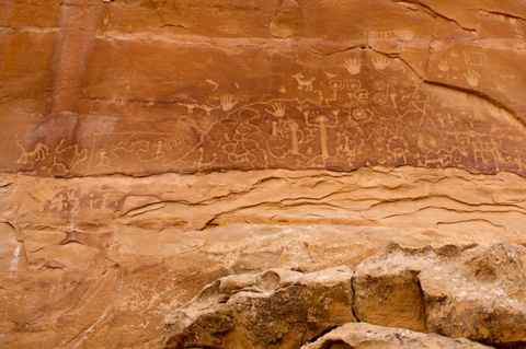 Mesa Verde's Largest and Best Known Petroglyph Panel