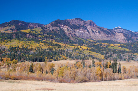 One of the San Juan Mountains