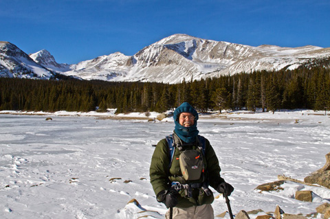 Mount Audubon, Brainard Lake, and Me