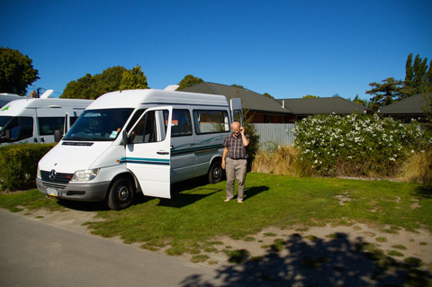 Graeme and his Camper Van